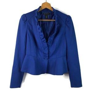 INC International Concepts Blue Jacket Blazer